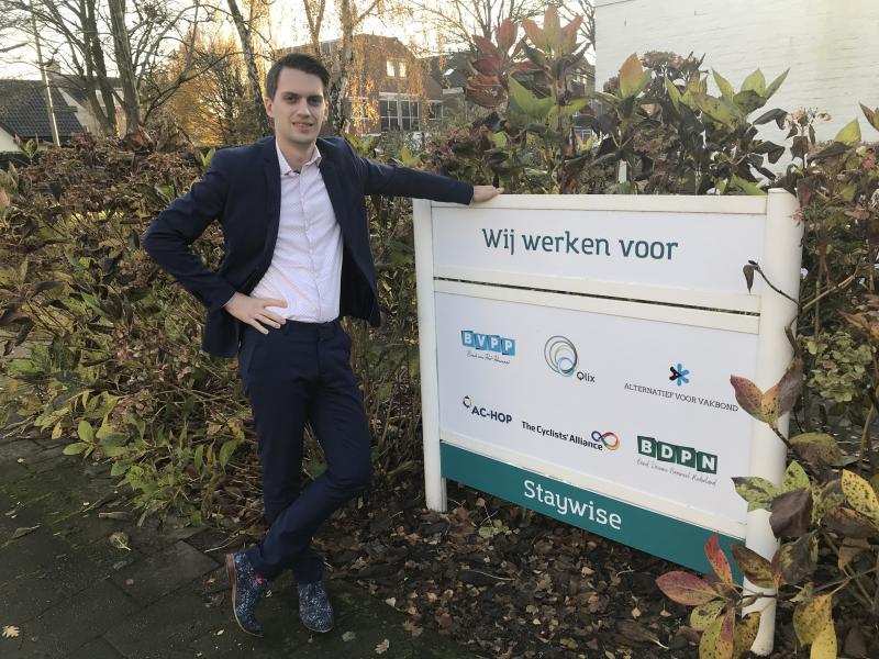 Nieuwe juridisch medewerker Stefan Klein